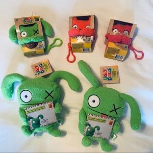 UglyDolls Bundle Lot of 5 Plush Toys